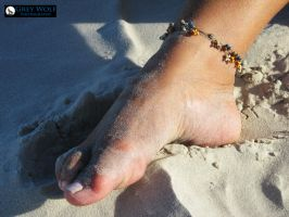 Foot and Sand by Grey8Wolf