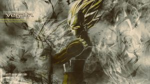 Vegeta wallpaper by sEbeQ13