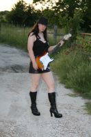 Guitar and Boots Stock - 4 by SafariSyd