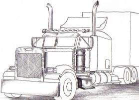 Peterbilt by mysanity