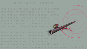 Syringe pipe by RayZerno