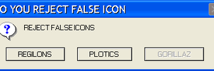 REJECT FALSE ICONS by WILDGOLD333339