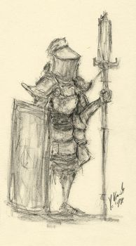 Sentinel Sketch by Jamcouver