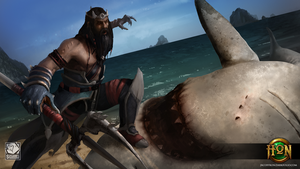Shark Hunter Poseidon by JRCoffronIII