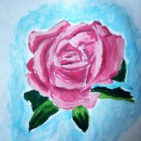 Watercolour Rose by steffy367