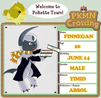 PKMN Crossing App - Finn by FullMetalMono
