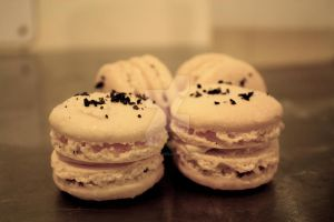 Salted Caramel French Macarons by theSugarmonger