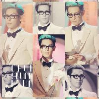 T.o.p Whitesuit by redsquizofrenia