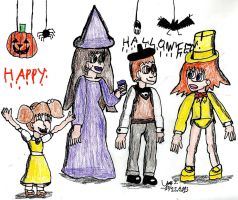 Halloween 2013-OC Costume Party by Urvy1A