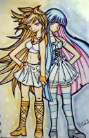 Panty and Stocking by alinadrongo