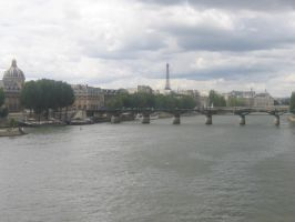 View from the River Seine by redglassfire