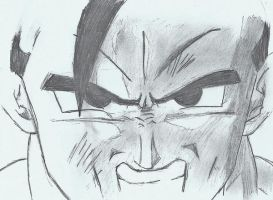 gohan gets mad. by aaa444nne