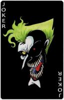 Joker Card by Boredman