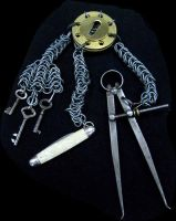 Steampunk Tactical Chatelaine by Sydeian
