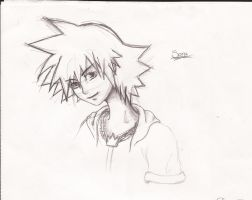Sora attempt by 4FaneBlackfireartist