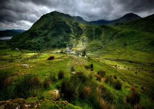View to Snowdon by ArwensGrace