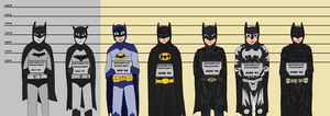 The Usual Suspect: Batman by moniek-kuuper