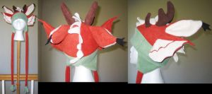 Vision Crafter hat by malytwotails