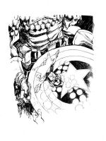 CAP'S SHIELD_90 minutes by EricCanete