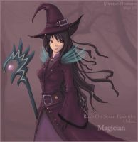 Magician high level by MysticHeaven