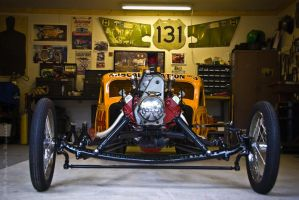 Hollish Bros 1959 Drag Car by supercrazzy