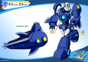 Gobots Animated Dive-Dive by PWThomas
