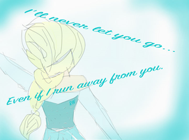 [VALENTINE'S DAY] Frozen's Elsa V-day Card by RainbowWonder