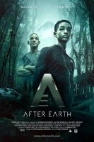 After Earth Movie Poster by oroster