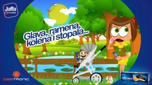 Glava Ramena Kolena i Stopala video with Jaffa by djnick2k