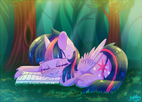 Twilight Sparkle by AlenD-nyan