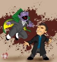 Smile Time Angel-VS-The Count by WiL-Woods