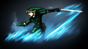 Link, by RTOneBlueWolf