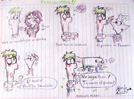 Mini-Comic 'Ferb Zombie' by KarlaTerry