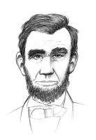 Lincoln in pencil 2 by SethWolfshorndl