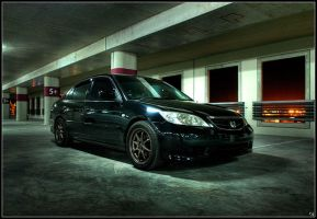 The Lot - Civic ES iii by technoghost