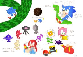 Sonic Lost World Sketches by Lucky-Sonic-77-d