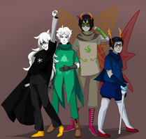 Group Pose by severumChameleon