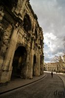 Nimes Arena by DominikMPhoto