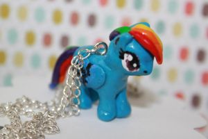Rainbow Dash-Necklace by Ollis100