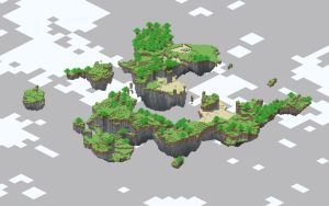 Indev Floating Islands by Trapiki