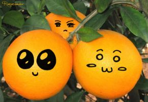 cute oranges by CannibalBlowjob