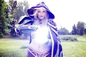 Jaina Proudmoore - Arcane Magic by Narga-Lifestream
