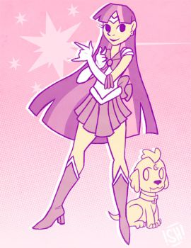 Magical Moon Horse Sailor Twilight by SteveHoltisCool