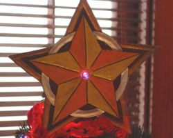 Christmas Star for the Tree by larrysleather