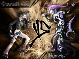 Occult 45 vs NeverDarke by Scarfgirl