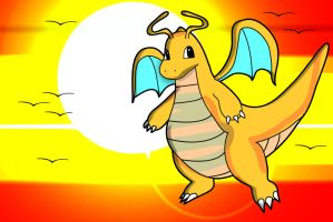 Dragonite by Sir-Heartsalot