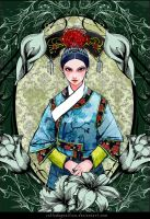 Dynasty imperial concubine of Chinese Qing by SchlodaGunilson