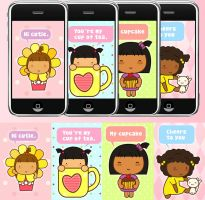 Pigtails iphone wallpapers by jazgirl