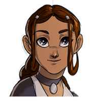 Katara sketch by MPdigitalART