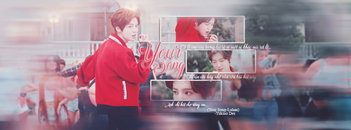 Cover Quotes Your Song-Luhan by Yukino-chuchoe